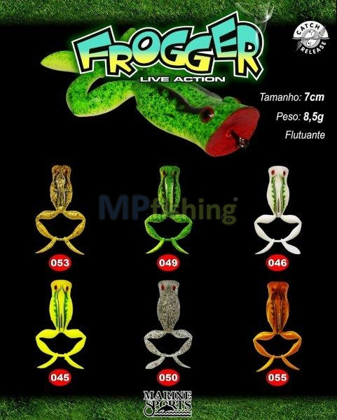 FROGGER LIVE ACTION