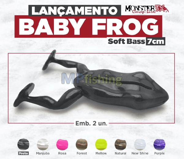 BABY FROG MONSTER3X