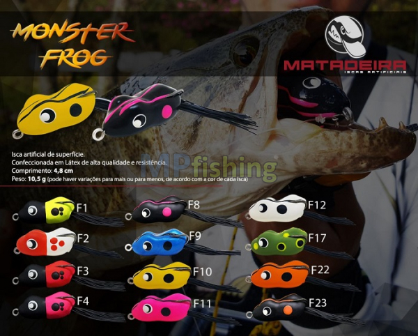 ISCA MATADEIRA MONSTER FROG