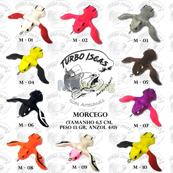 MORCEGO TURBO ISCAS