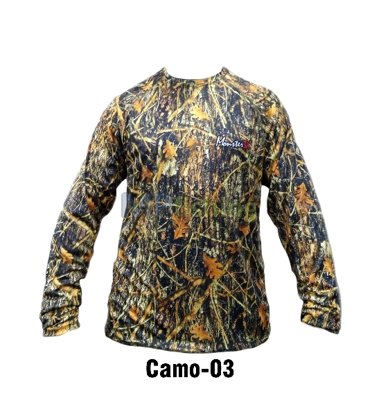 CAMISETA MONSTER CAMO 03