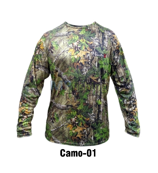CAMISETA MONSTER CAMO 01