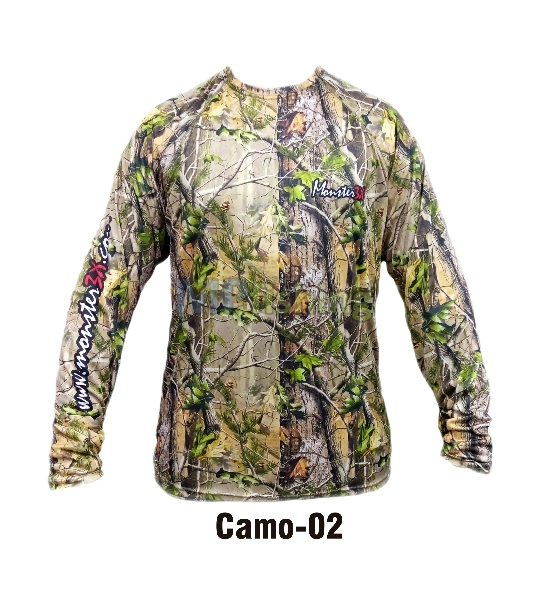 CAMISETA MONSTER CAMO 02