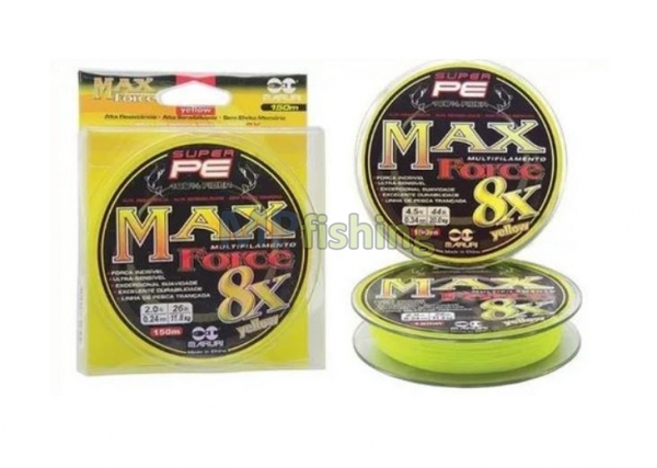 LINHA MAX FORCE 8X YELLOW